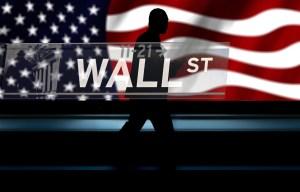 US STOCKS-Wall St falls on economy worries, energy shares