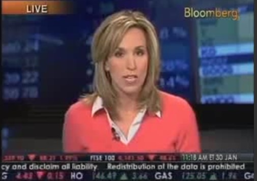 Bloomberg – High Quality Stocks into Weakness January 30, 2009