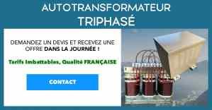 Transfo Autotransformateur Triphasé