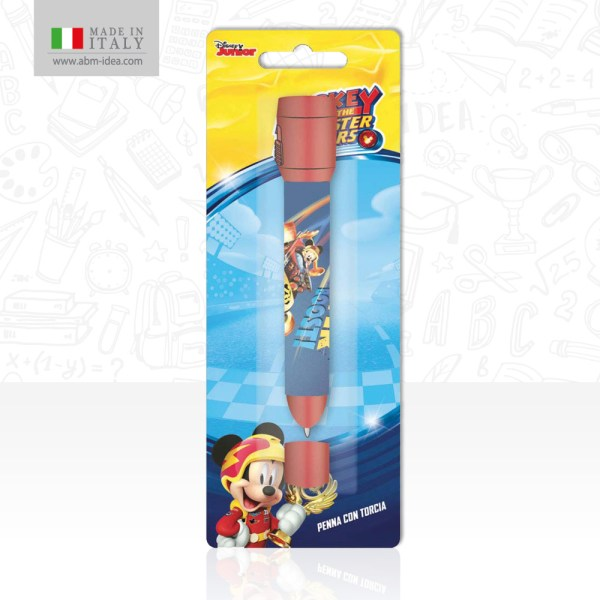 PENNA IN BLISTER CON TORCIA