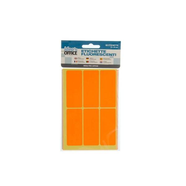 HX809689 10 ETICHETTE FLUORESCENTI