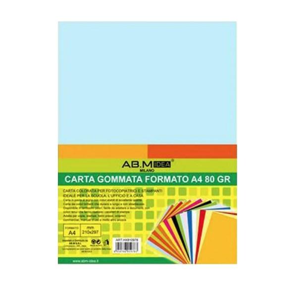 HX810978 CONFEZIONE 10 FOGLI CARTA GOMMATA FORMATO A4 80 GR