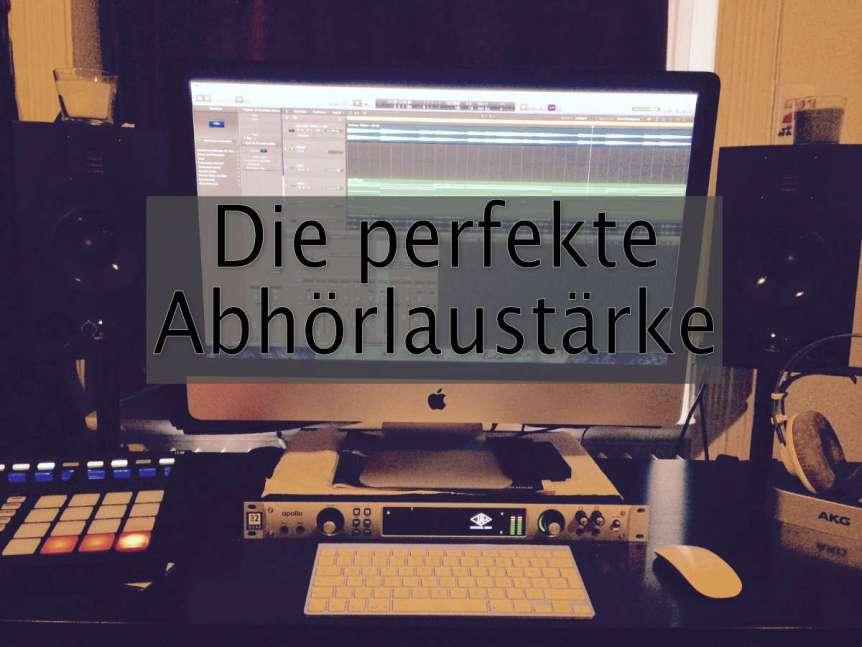 Mixing Mastering Lautstärke Pegel