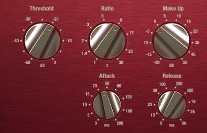 Den Kompressor für Drums einstellen!