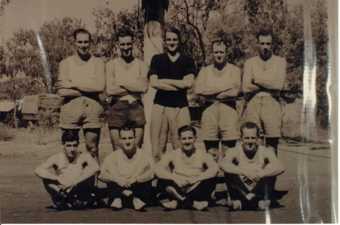 Combined Basketball Team 1945