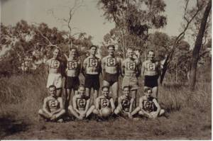Tunnel Ball Team 1944