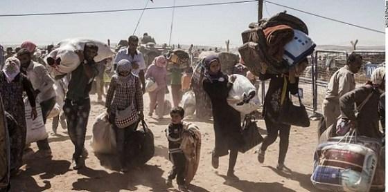 Syrian Kurdish refugees