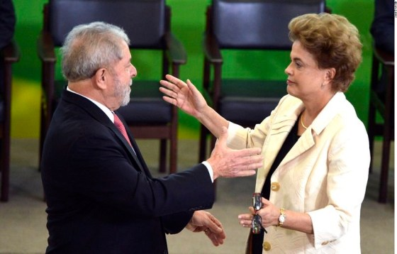 Dilma empossa Lula