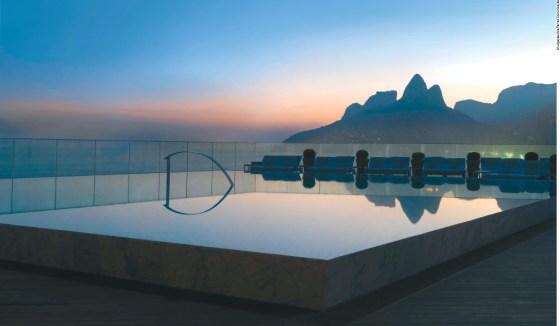 Hotel Fasano no Rio de Janeiro