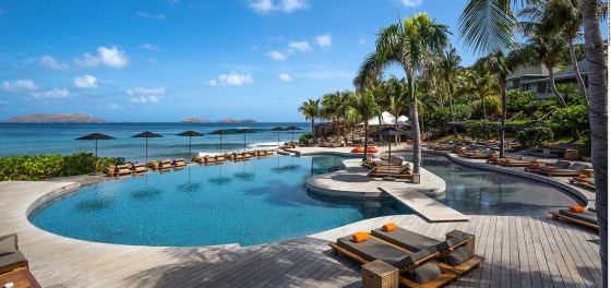 Hotel Christopher St Barth no Caribe