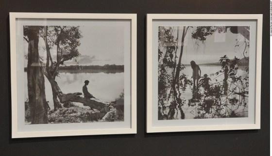 Fotografias feitas pelo rei belga Leopoldo III, no Parque Nacional do Xingu em 1964