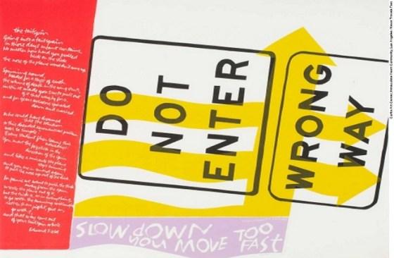 Feelin' Groovy, 1967, Silkscreen Print on Pellon