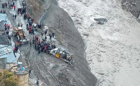 नंदा देवी ग्लेशियर टूटने से सात मृत, 125 लापता, उमा भारती ने कहा; हिमालय एक बहुत ही संवेदनशील जगह है वहां बिजली परियोजनाएं नहीं बनाई जानी चाहिए थी