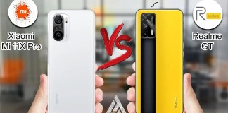 Realme GT Vs Xiaomi Mi 11X Pro