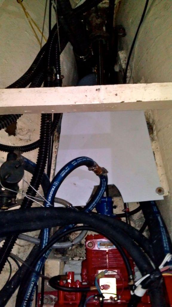StarBoard water heater platform installed