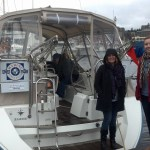 Two gorgeous ladies at the Big Seattle Boat Show Afloat