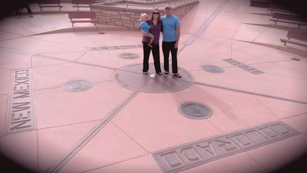 We road tripped through the 4 corners of Arizona, Colorado, Utah and New Mexico