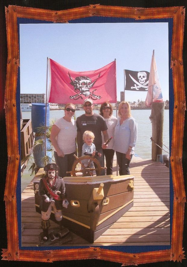 Vicky surprised us with a pirate day cruise from John's Pass!