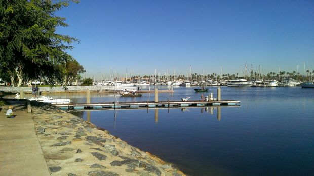 The boat basin at Chula Vista
