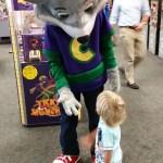 Meeting Chuck E. Cheese