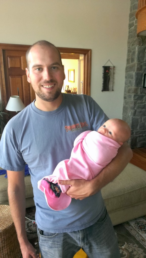 We also got to meet our newest niece, Vera. Such a cute little baby girl.