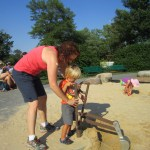 Digging for buried treasure and dinosaur bones with Aunt Lizze