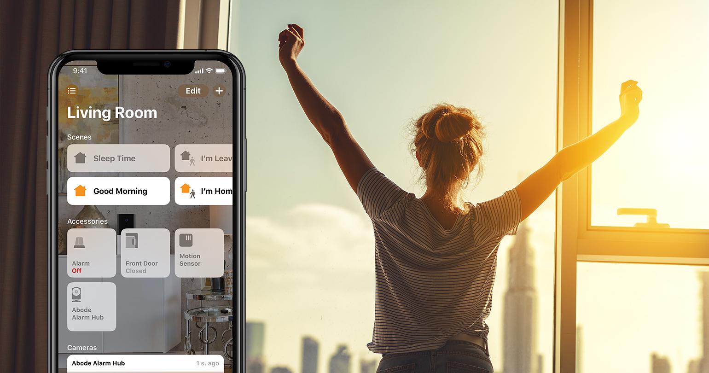 Tus dispositivos deben estar en tu horario. Configure sus sensores de movimiento, alarmas, luces y más para que funcionen cuando los necesite. Controla todo desde tu iPhone en cualquier momento y lugar.