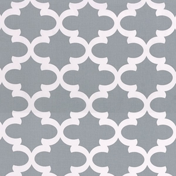 Cool gray and white fabric