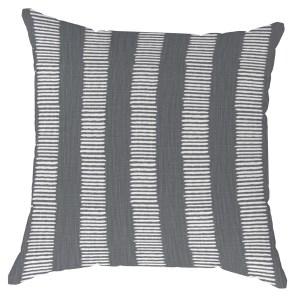 Morse-Graphite Grey Pillow
