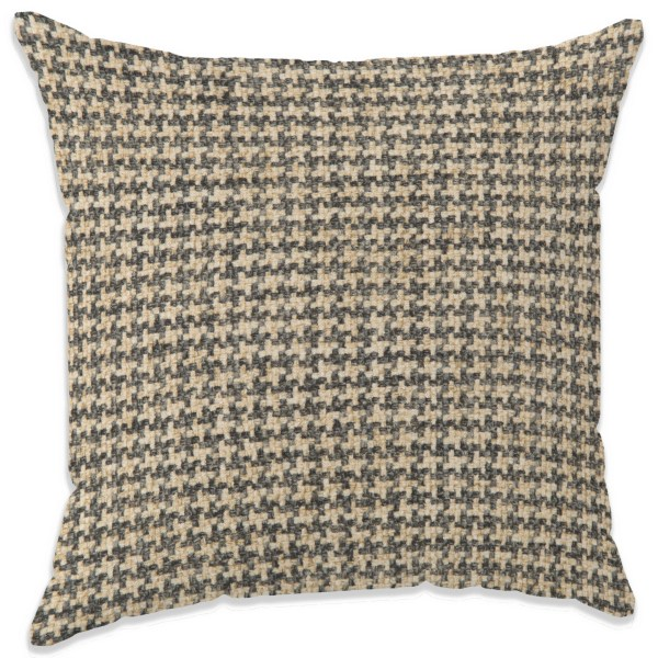 Grey and Tan Houndstooth