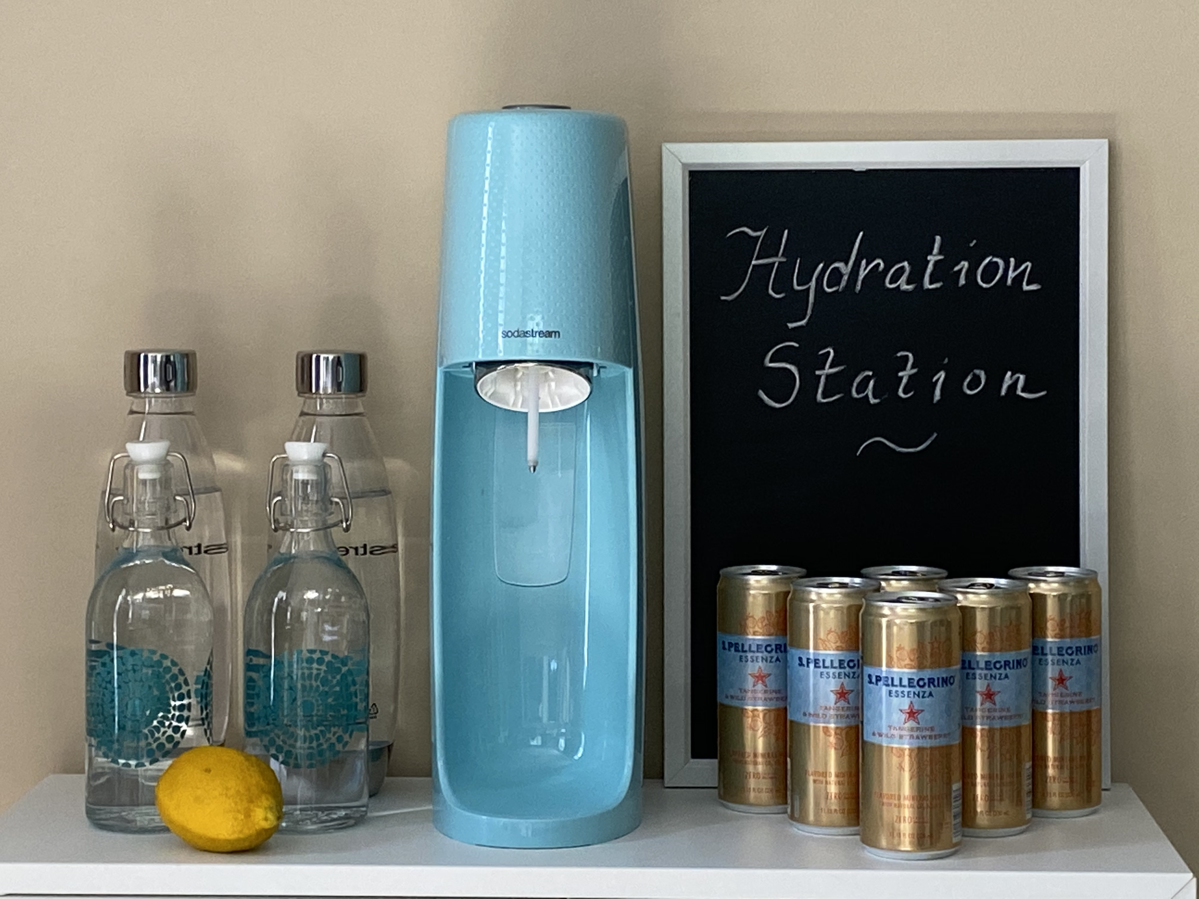 Breakfast Nook Hydration Station