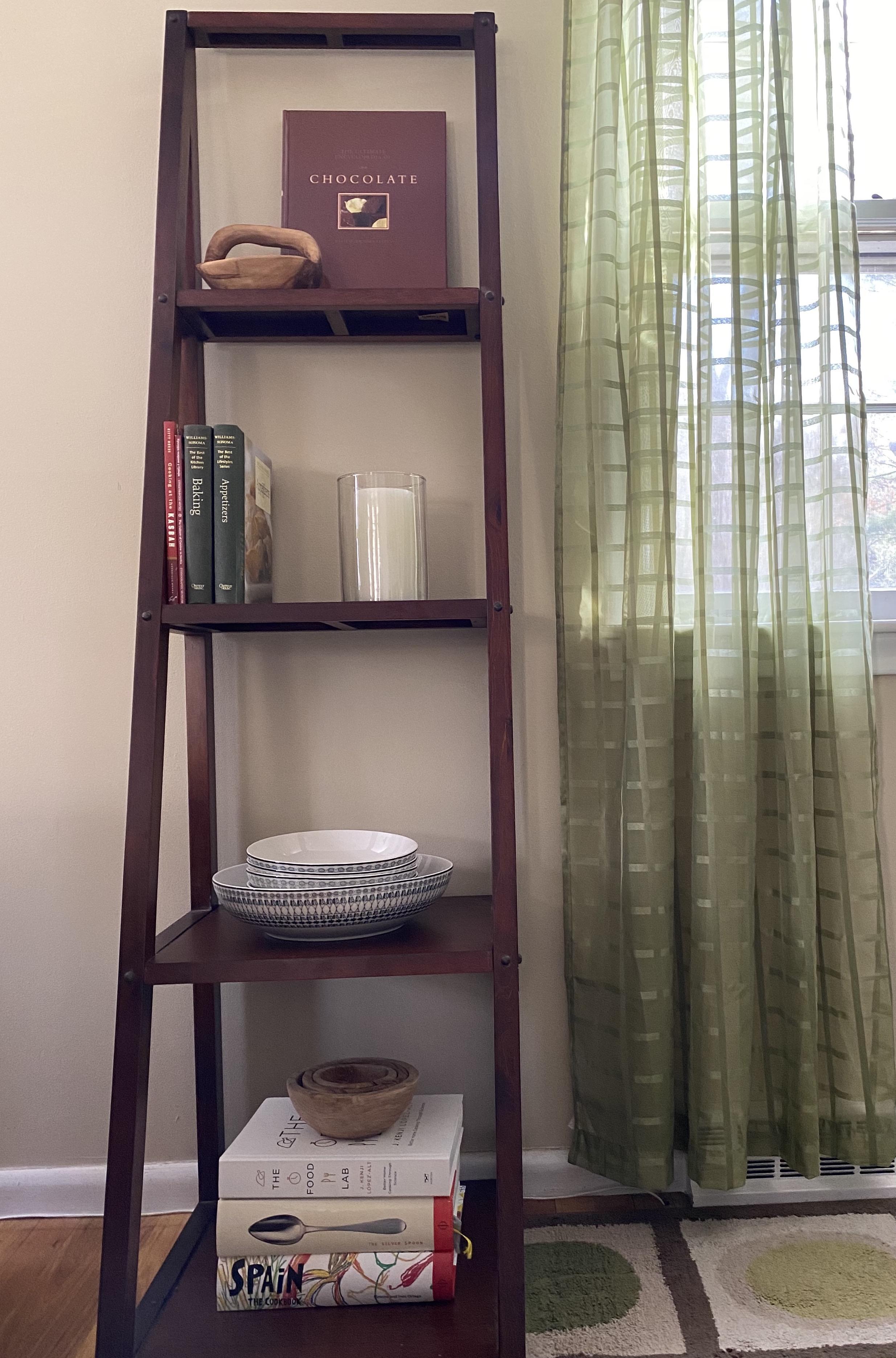 Dining Room Shelf Display