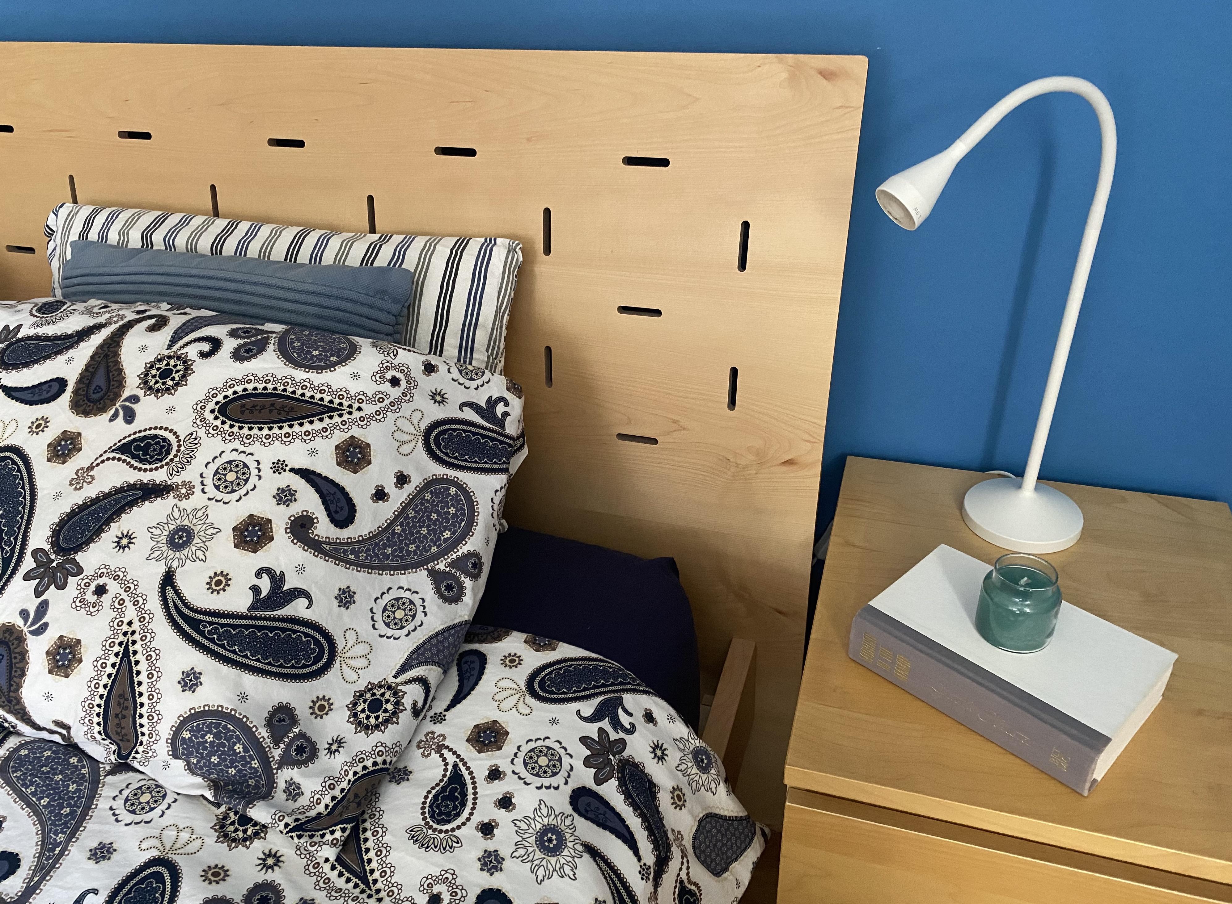 Coastal Calm Master Bedroom Bedside