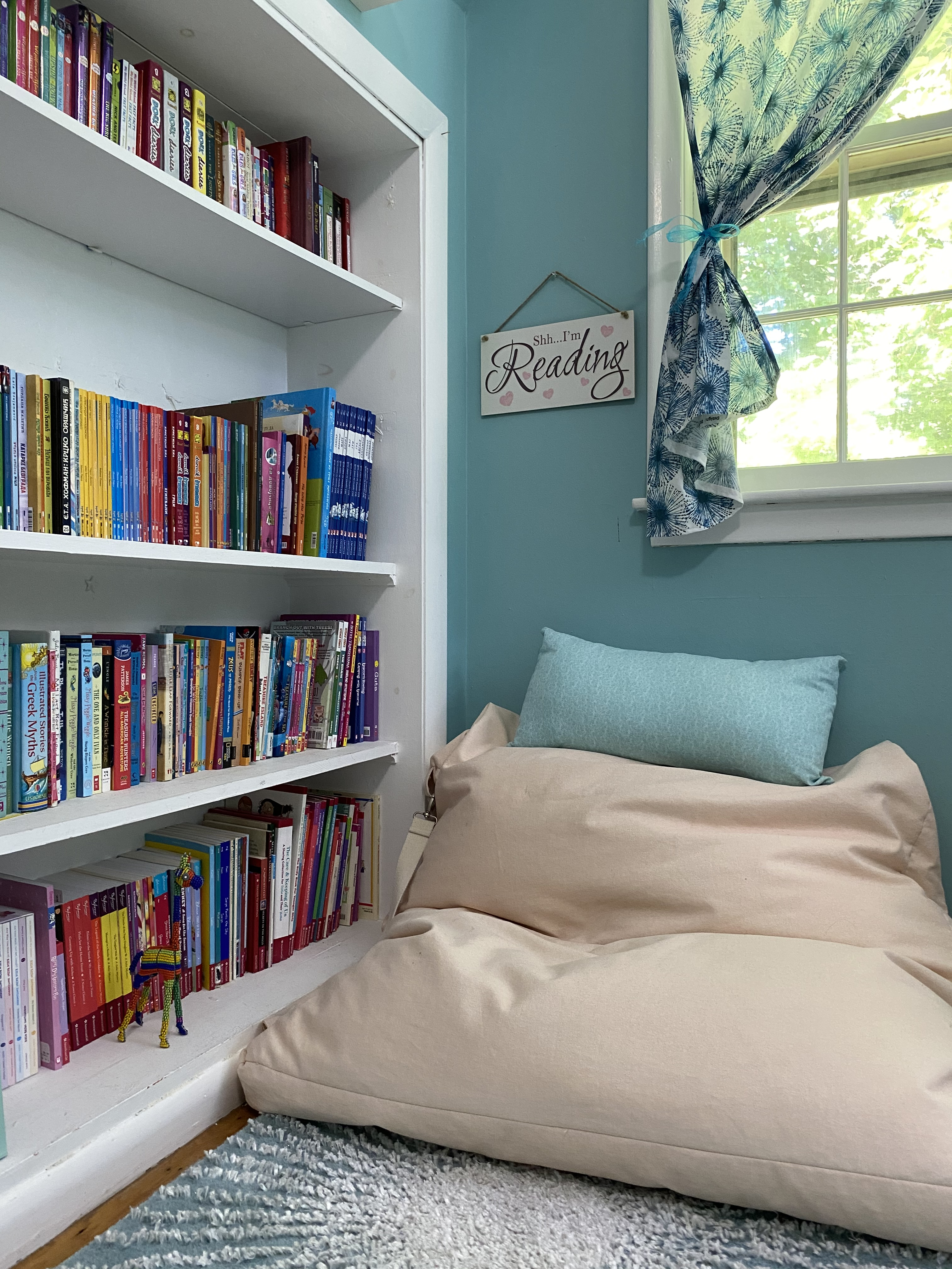 Girl Room Reading Corner