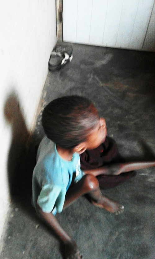 Kofi ( a 12yrs old disabled) is kept in the dark and secluded from the world.