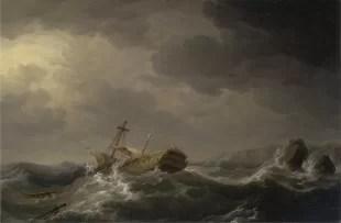 Barco hundido - tesoro