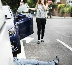 Accidente peatonal