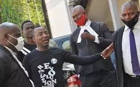 Sowore and four others taken to court for protesting