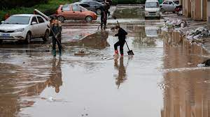 flood in Northern China
