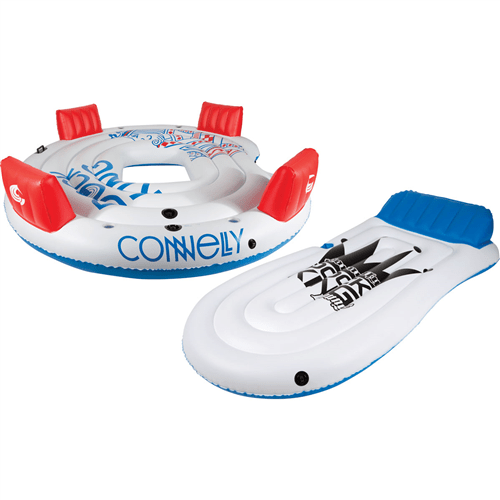 Connelly Dock King Floating Party Island - Abom Ski & Board