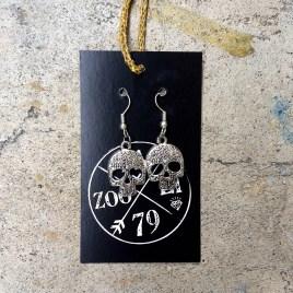 Tibetan Silver Skulls - $10