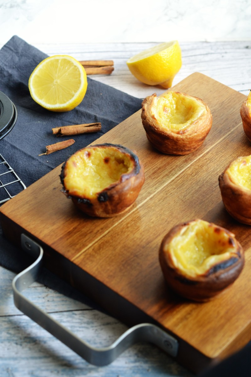 The Bake Off Bake Along: Portuguese Custard Tarts (Pastéis de Nata)