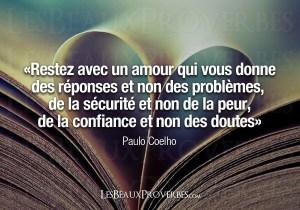 Paulo Coelho citation Citations d'Amour