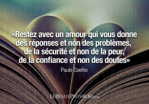 Paulo Coelho citation Citations d'Amour