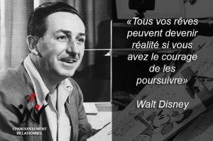walt disney séduction Citations d'Amour