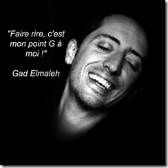 Gad Elmaleh point G