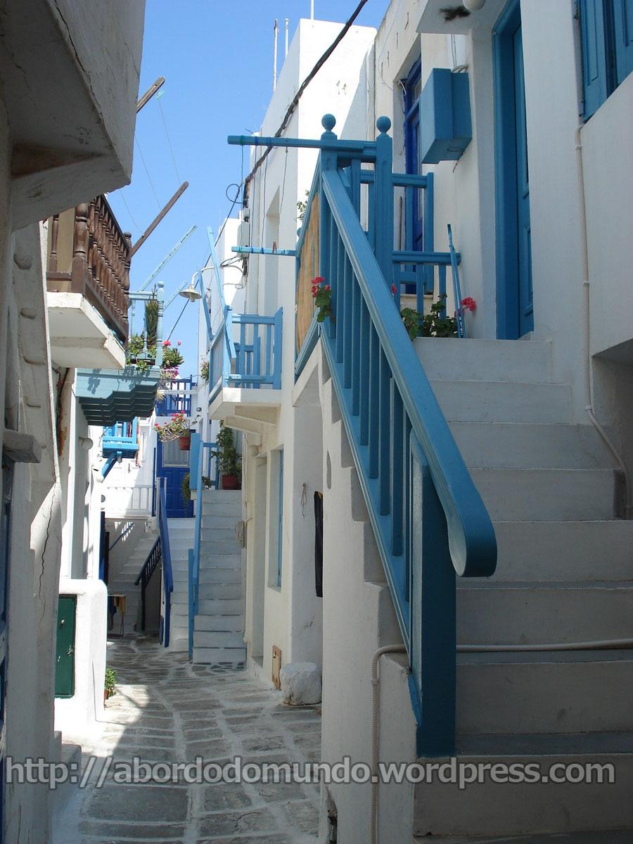 Grecia típica: ilha de Mykonos