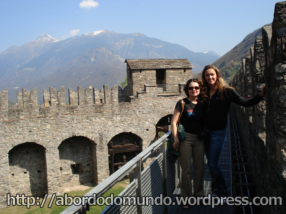 Com Isabel em Bellinzona