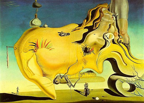 ...inspirou este quadro: O grande masturbador