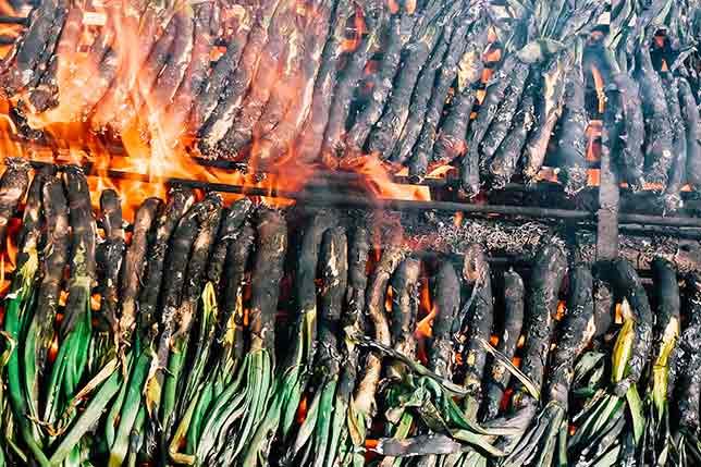 We know where to eat calçots in Catalonia